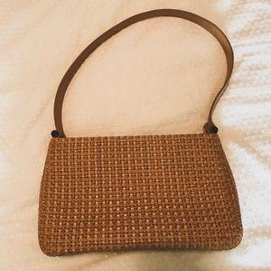 FOSSIL straw shoulder bag